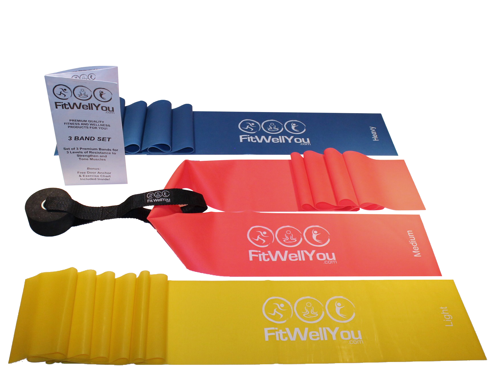 FitWellYou Resistance Band Set