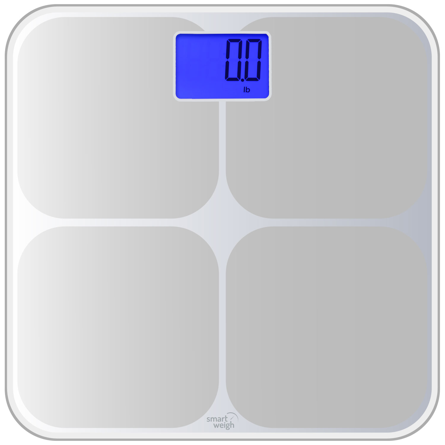 Track Your Weight Goals w the Silver Digital Memory Scale from #smartweigh
