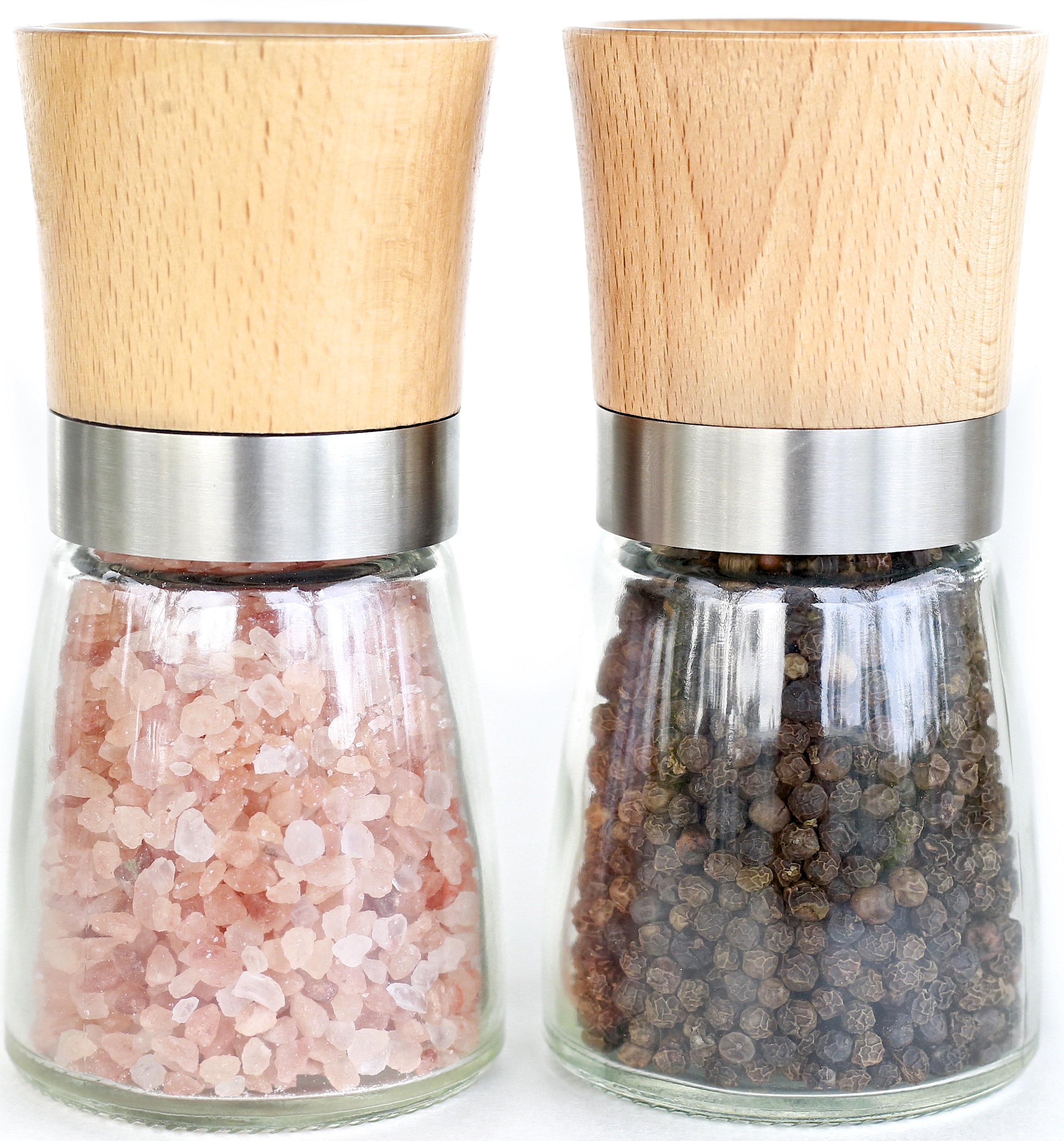 Glamamama s goodies modern wood and glass salt