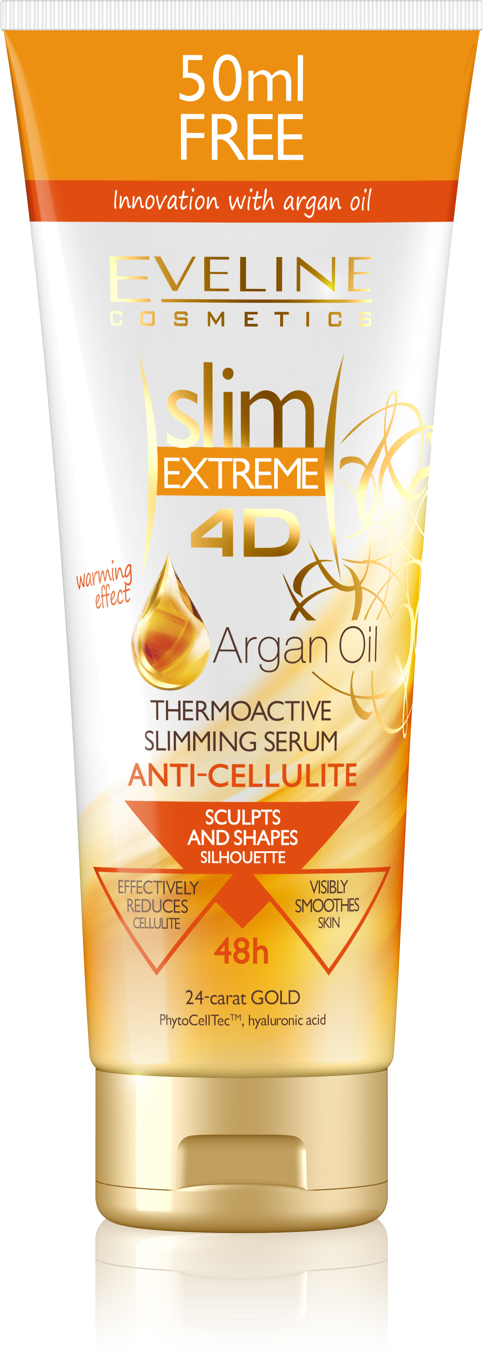 Slim Extreme 4d Argan Oil Thermo Cellulite Serum #slimextreme