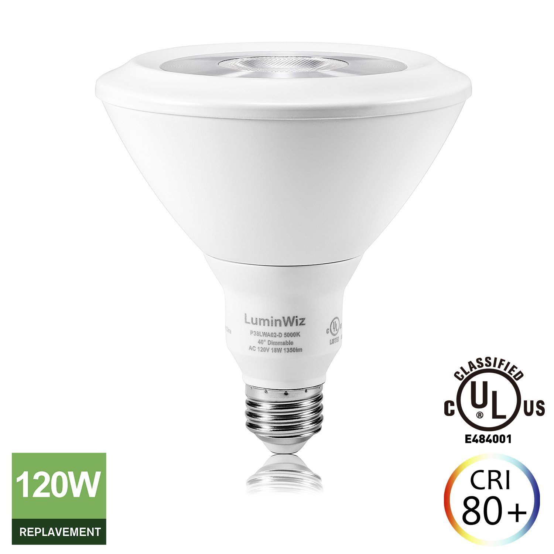 Led Flood Light Bulbs 5000k: TiffsPixieDust: 18W 5000K LED PAR38 Flood Light Bulb,1 Pack