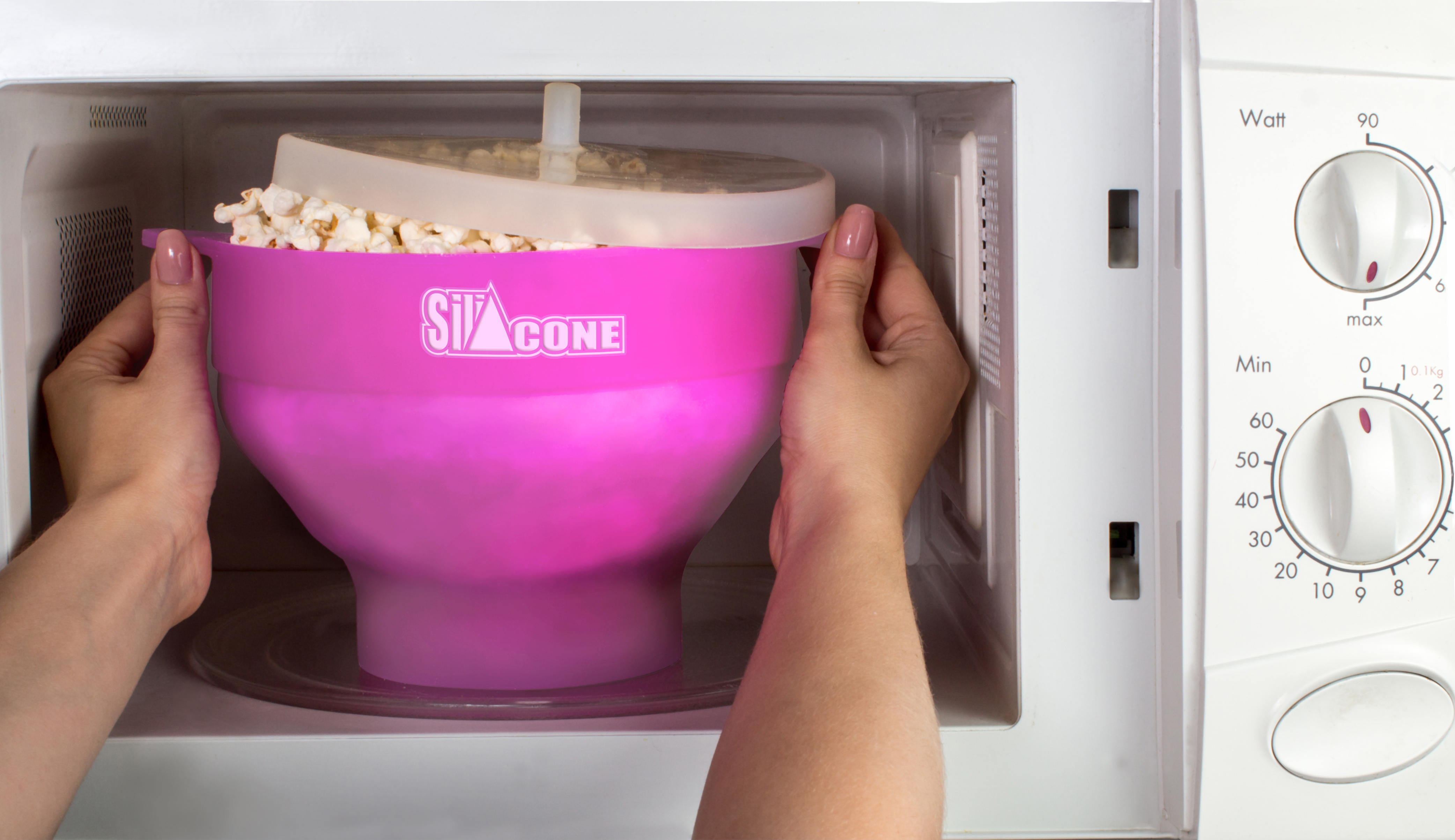 silicone microwave popcorn popper instructions