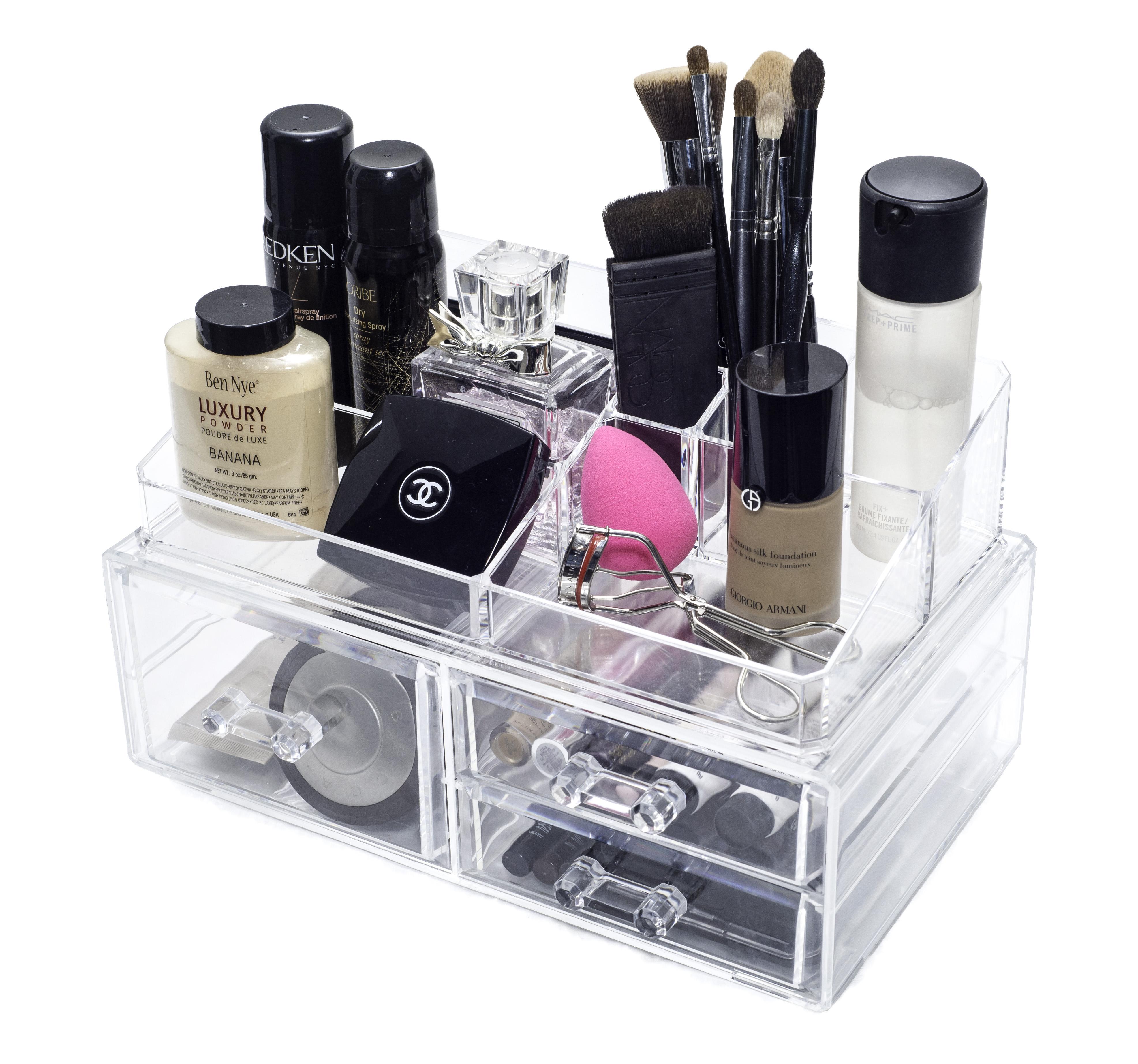 Cubie Large Acrylic Makeup Organizer