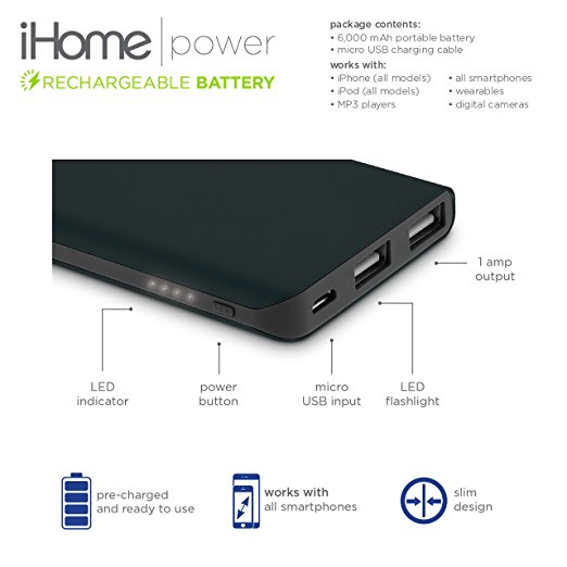 ihome battery pack instructions