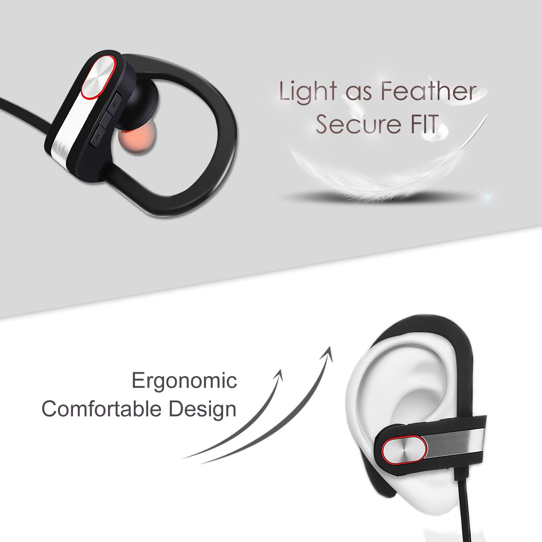 aulker q7 over ear bluetooth sport headset. Black Bedroom Furniture Sets. Home Design Ideas