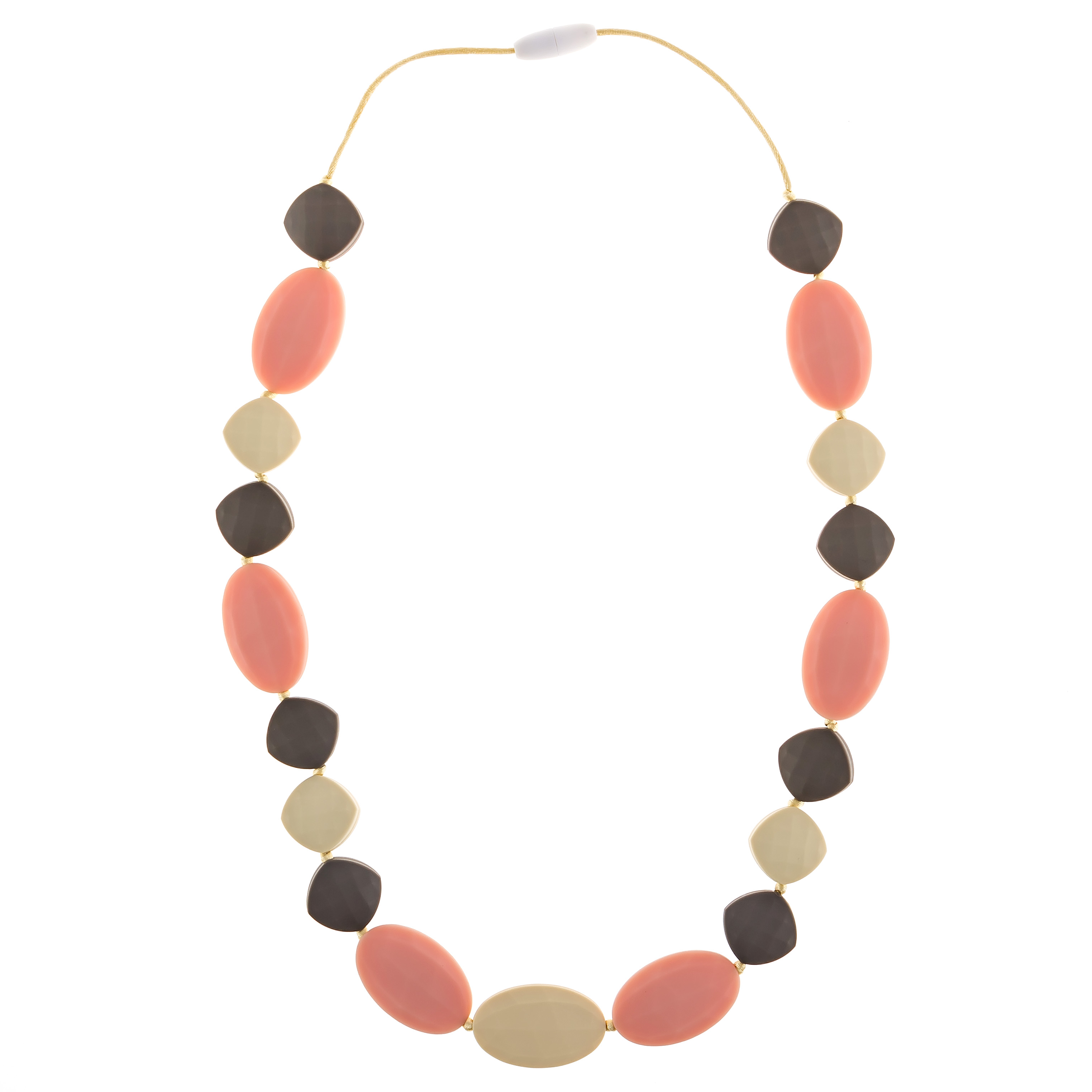 Chew-Choos Cutie Pie Silicone Teething Necklace from Baby Pinch Boutique #cutiepie