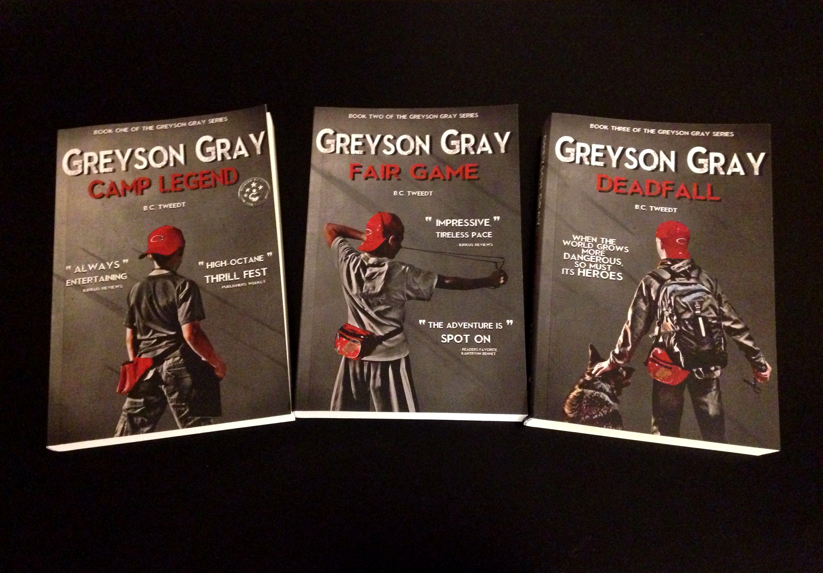 The Greyson Gray Series