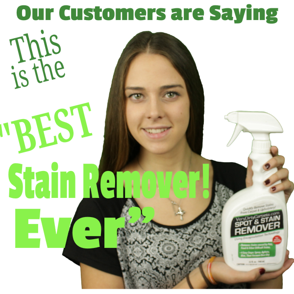 VeryDirtyCarpets Spot and Stain Remover Giveaway