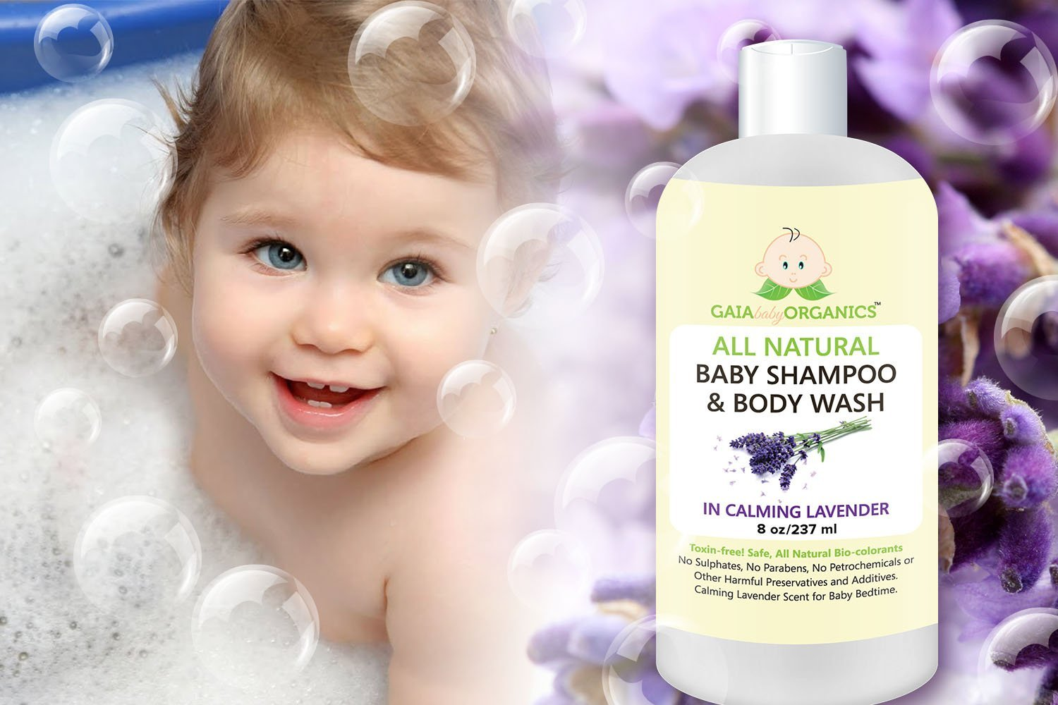 LIMITED TIME OFFER!!! Gaia Organics Baby Shampoo #organicbabyshampoo