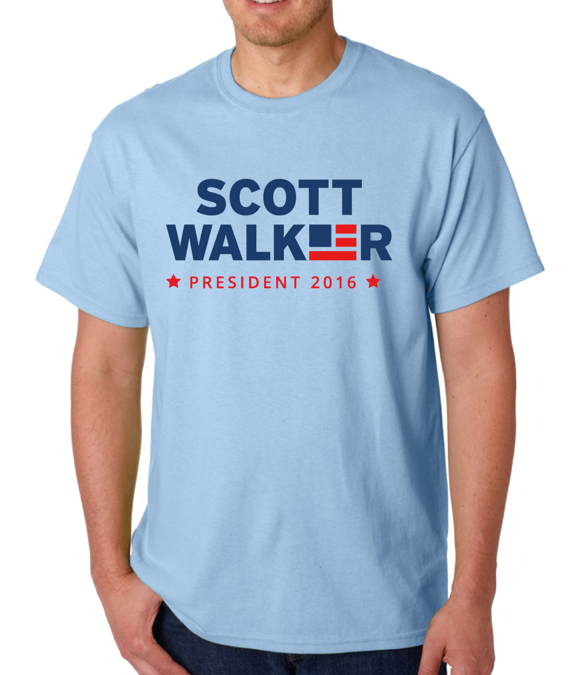 Scott Walker 2016 Presidential Logo Mens Shirt