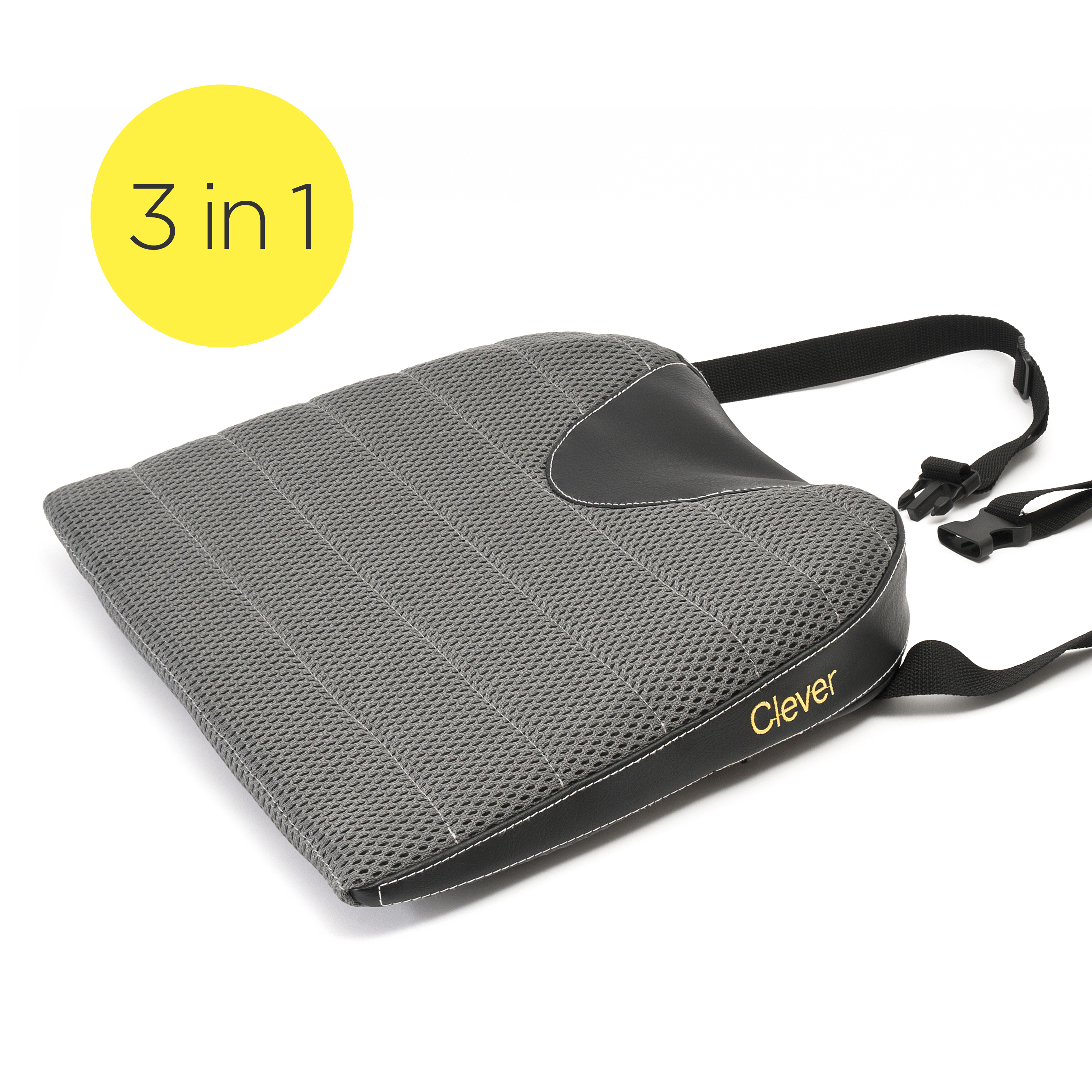 car seat cushion ergonomic three layer technology. Black Bedroom Furniture Sets. Home Design Ideas