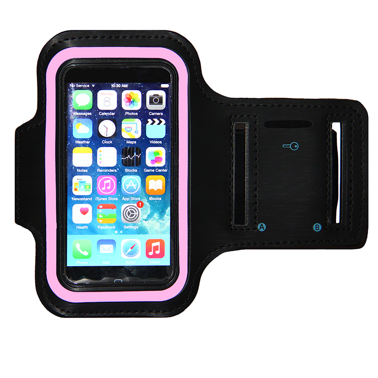 Sport Armband for iPhone 5 w/ Pink Reflector #iphone5pinkarmband