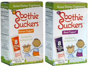 Soothie Suckers Review and Giveaway