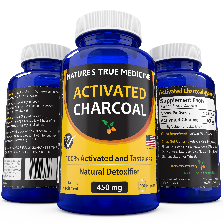 Charcoal vitamin benefits
