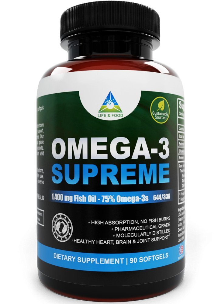 Cassandra m 39 s place omega 3 supreme 1400 mg fish oil for Fish oil 1400 mg