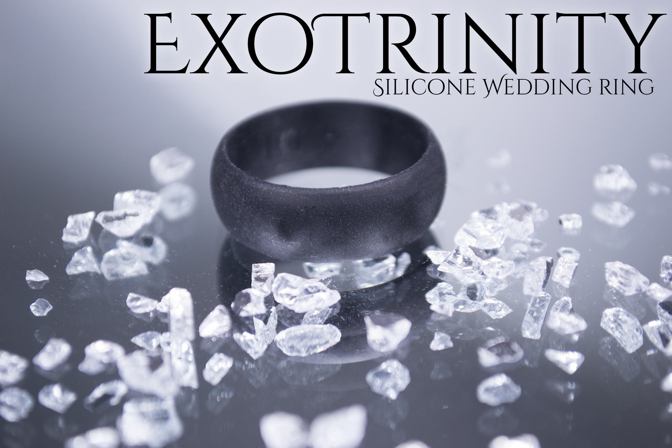 A Silicone Wedding Ring from ExoTrinity #siliconeweddingring