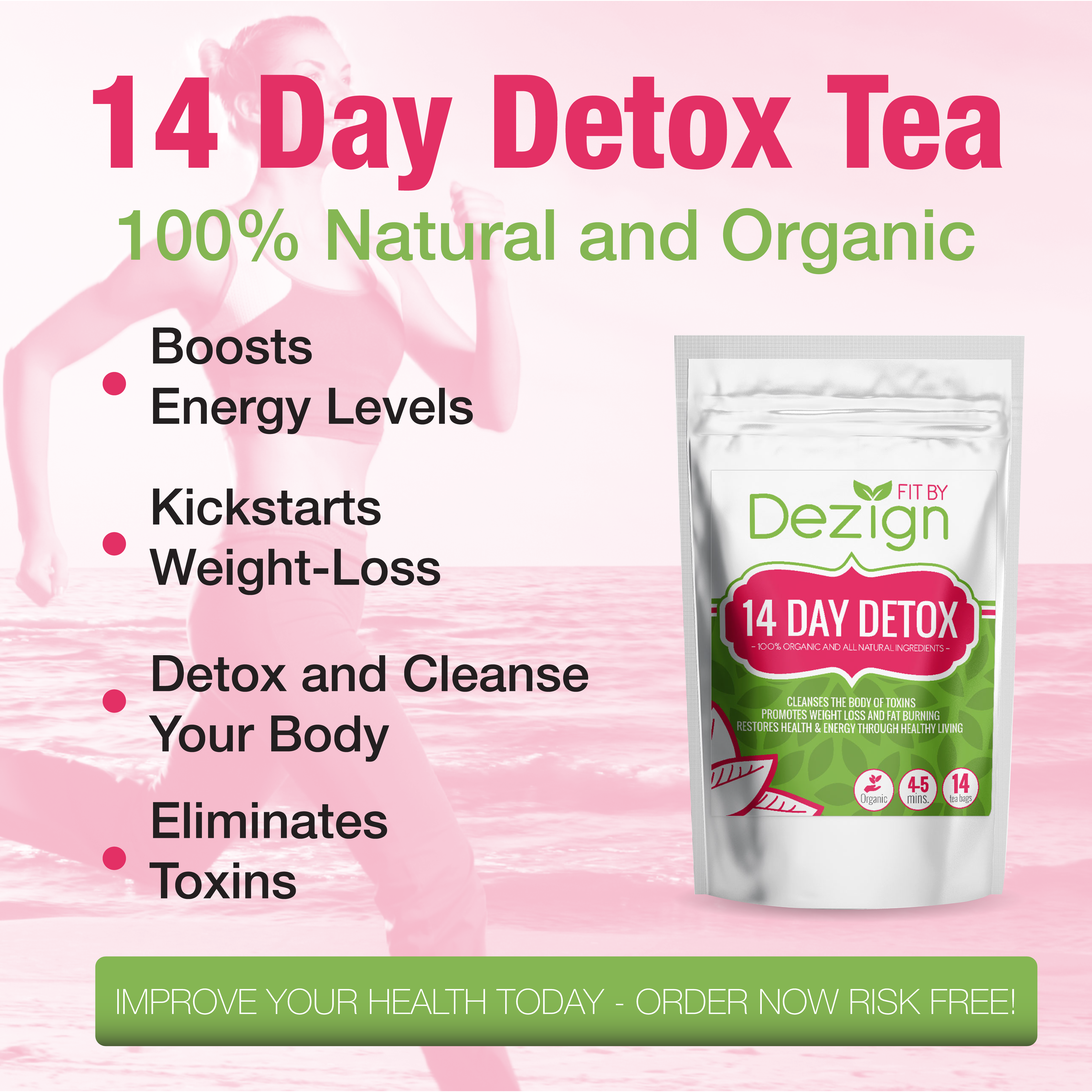 14 Day Detox Tea by Fit by Dezign