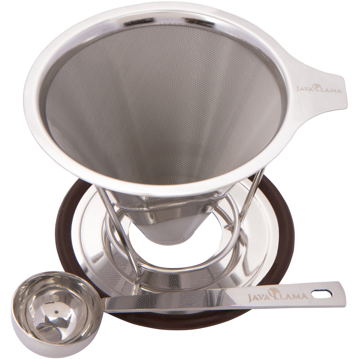 Pour Over Coffee Maker Stainless Steel : Java Llama Stainless Steel Pour Over Coffee Maker Review mylifeminimalized