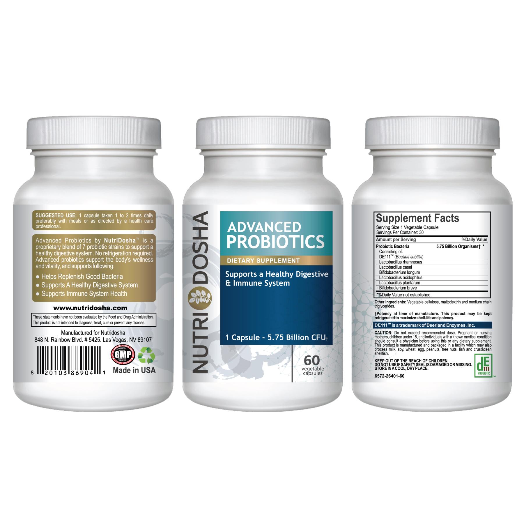 Nutridosha Advanced Probiotics #nutridosha
