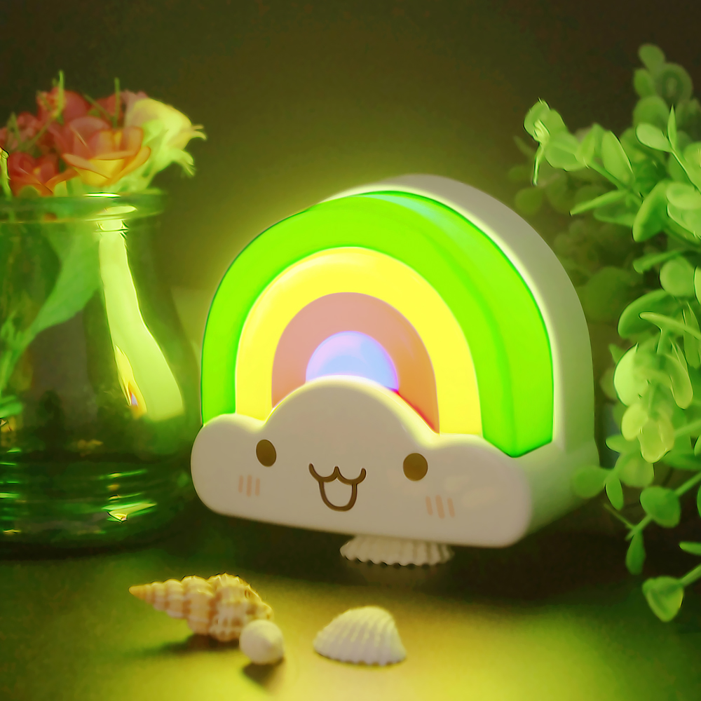 Zitrades Baby Night Light Rainbow Toddler Nightlight #Zitradesnightlightforkids