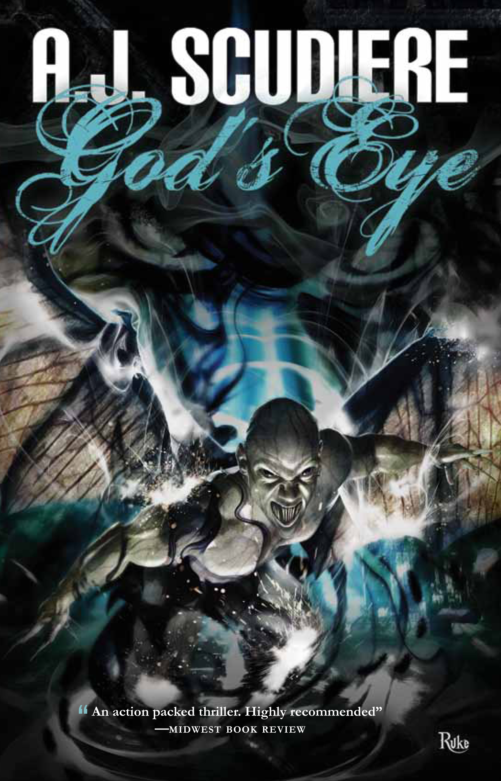 GOD god GODS gods eye by aj AJ scudiere griffyn ink publishing