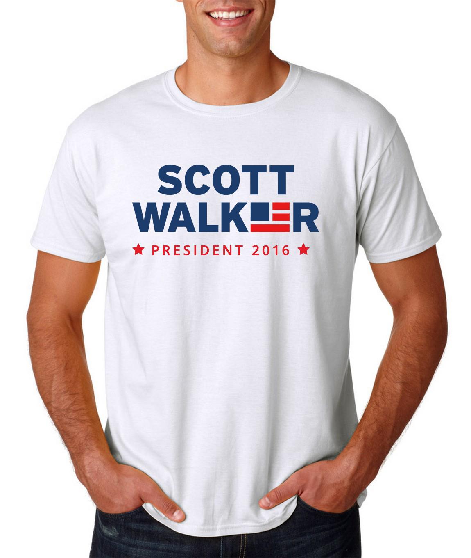 Scott Walker 2016 Presidential Logo Mens Shirt