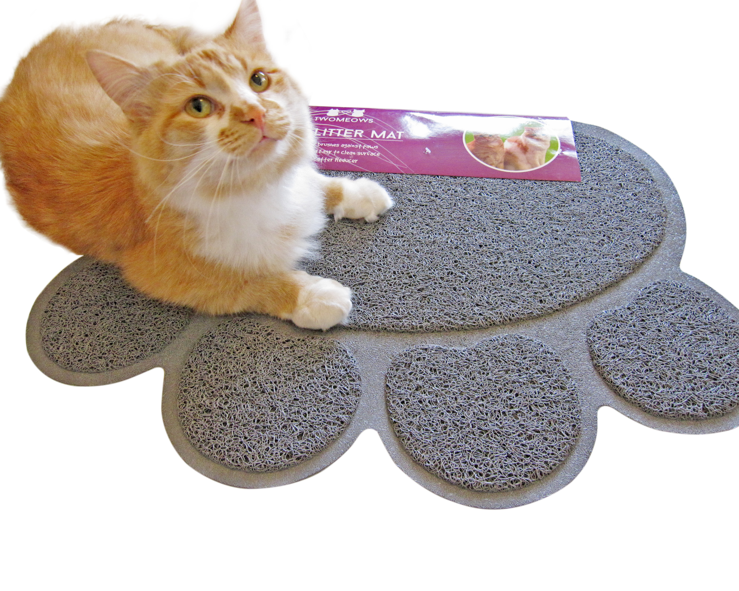 Two Meows Paw Litter Mat