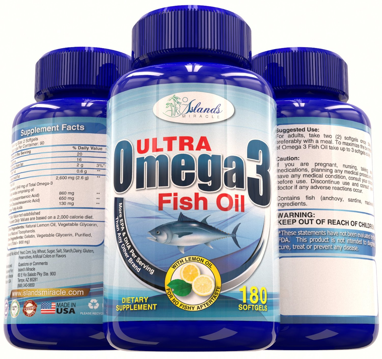 Island s miracle ultra omega 3 fish oil review giveaway for Omega 3 fish oil reviews