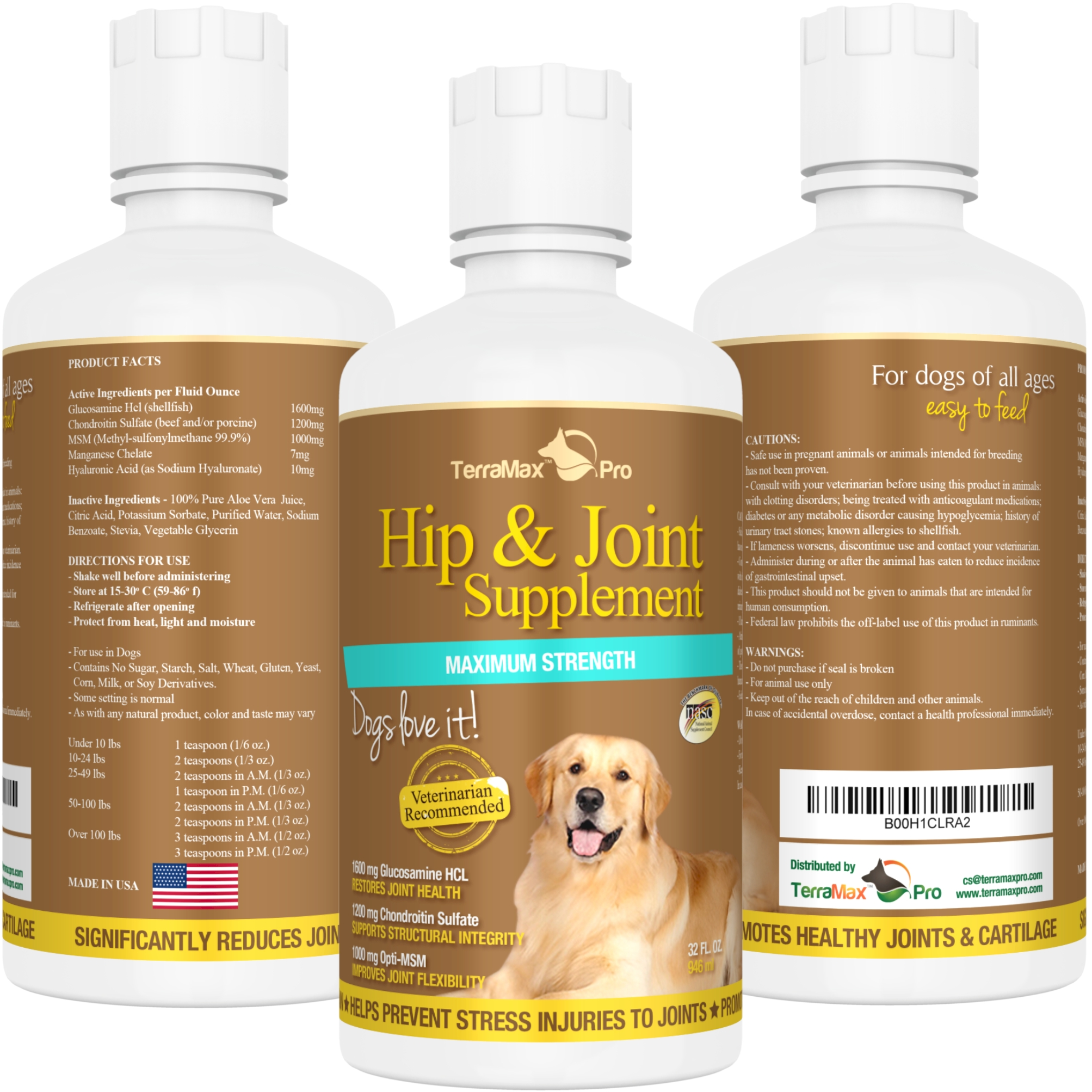Cassandra M's Place: Hip & Joint Supplement for Dogs # ...