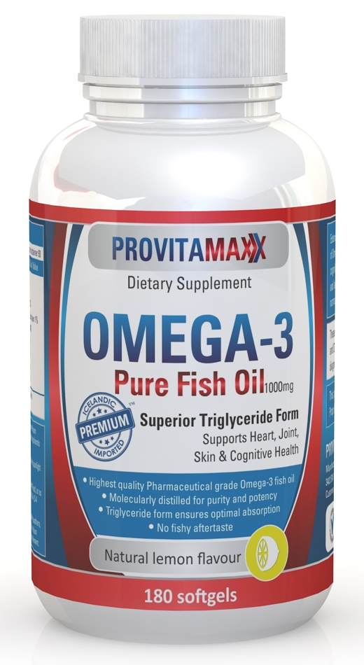 Provitamaxx omega 3 fish oil review giveaway for Fish oil omega 3 benefits