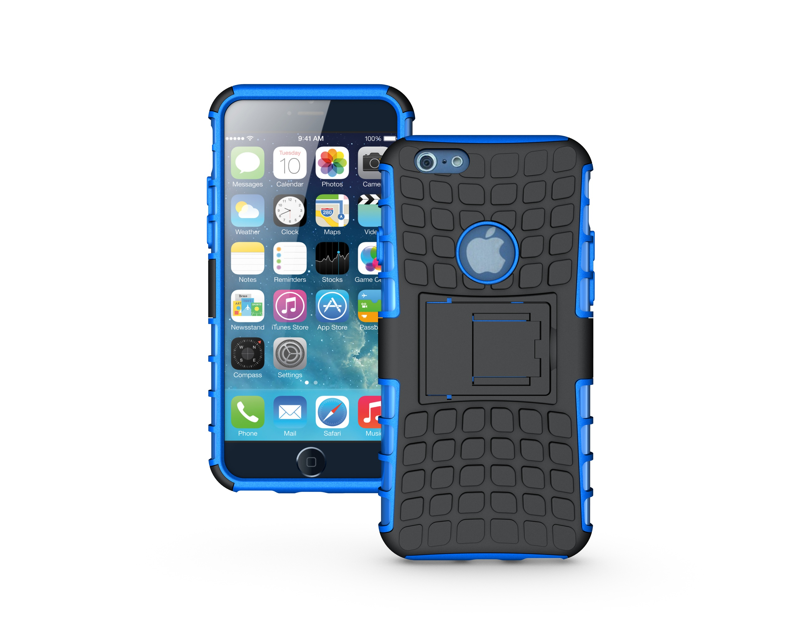 Hybrid Rugged 2-1 stand case for iPhone 6 #trimevolution