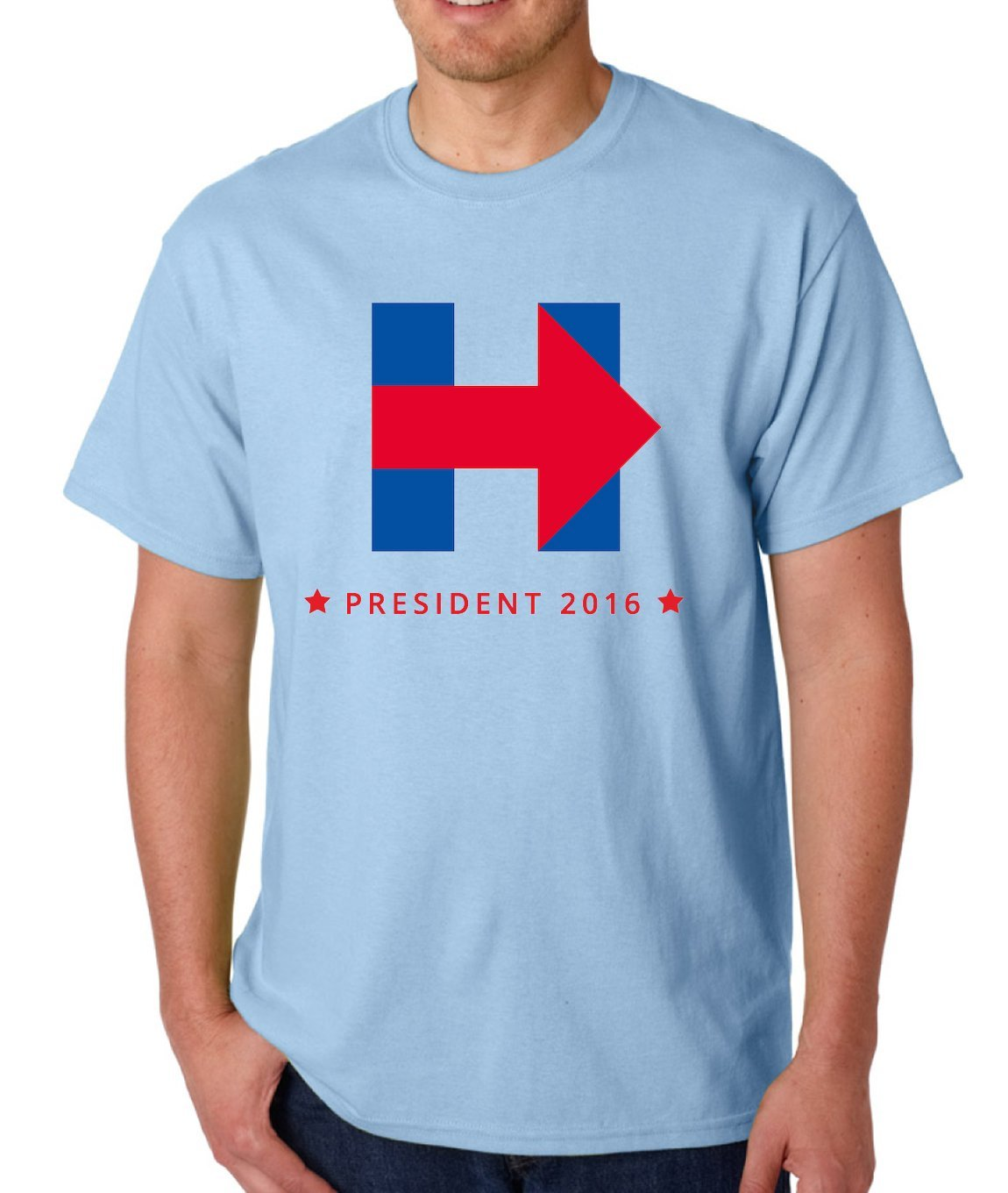 AW Fashion makes T-Shirts so Comfortable, Durable, and Luxurious that they can even withstand a Hillary Clinton Logo!
