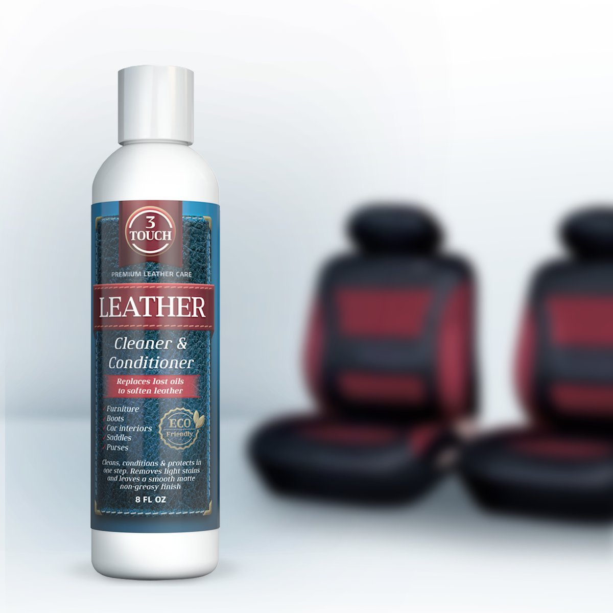 3-in-1 Leather Cleaner by 3Touch, Inc. (Top Rated)