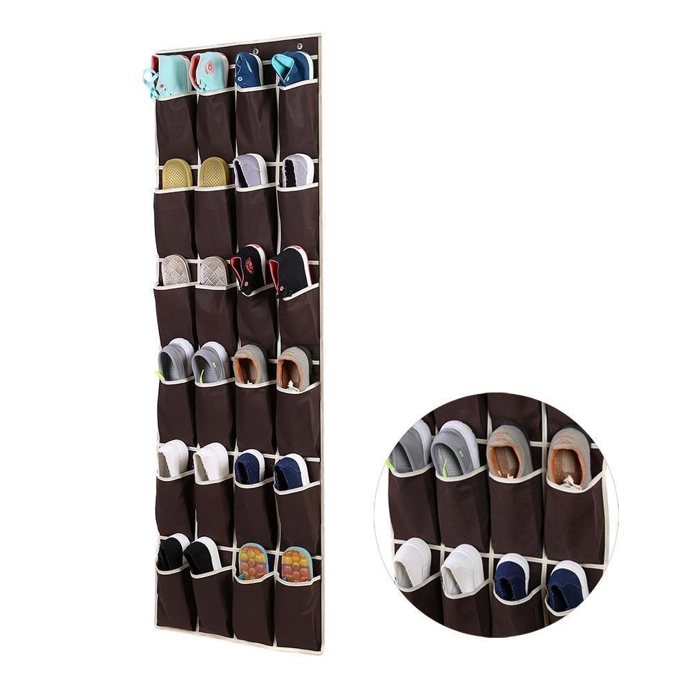 Ohuhu 24 Pockets Over-the-Door #ShoeStorageBag