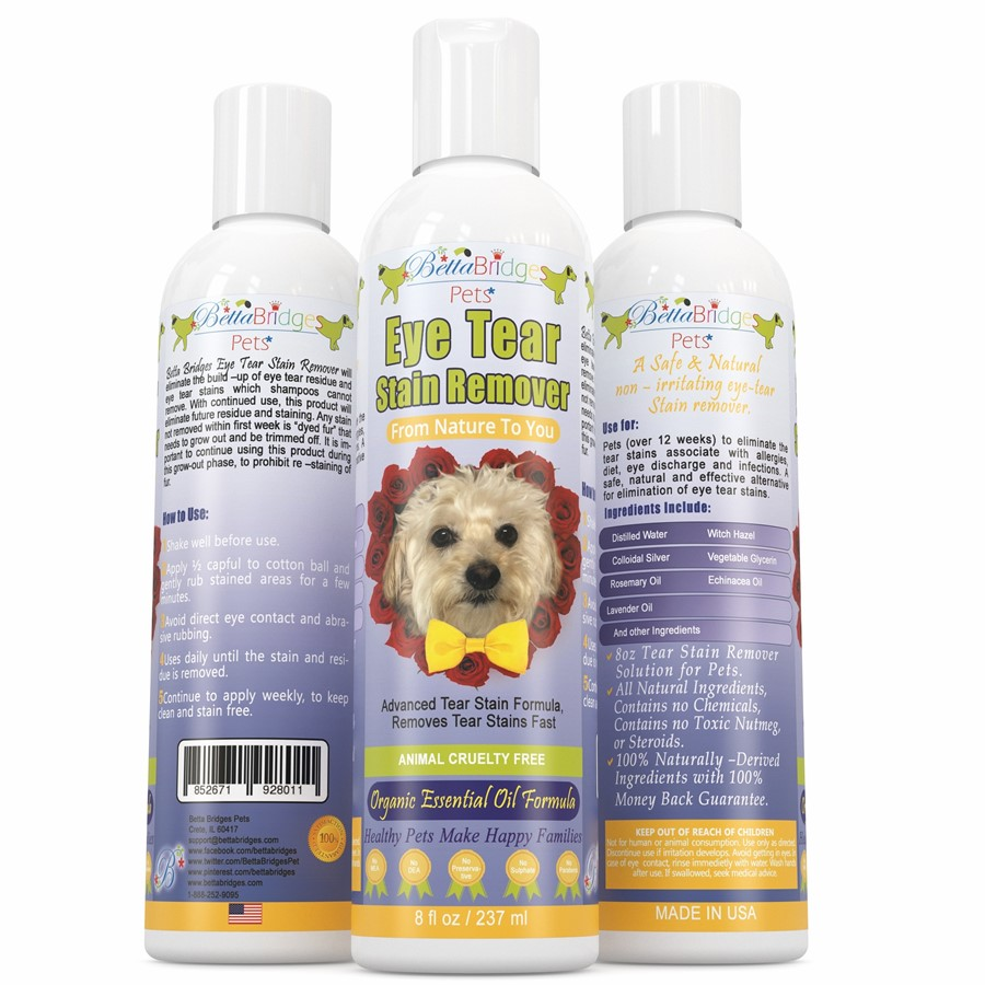 Betta Bridges Pets Natural Tear Stain Remover for #doglovers