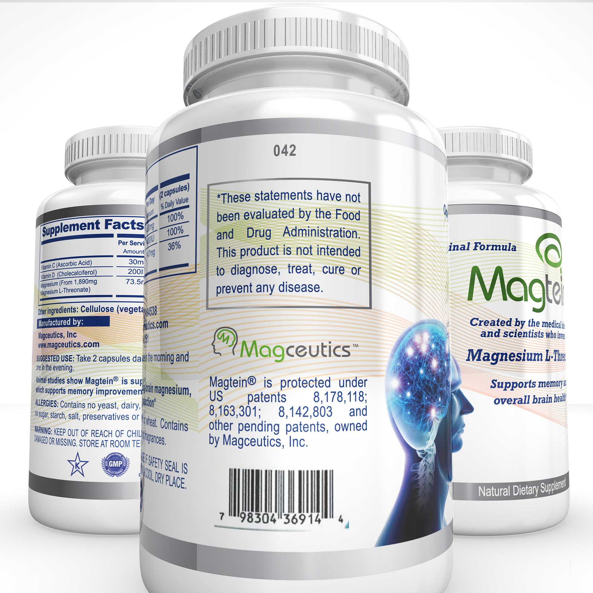 The closest thing you can get to the mysterious drug NZT OTC! #magtein