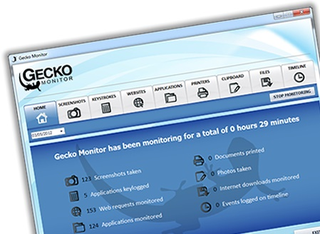 2 Gecko Monitoring Software