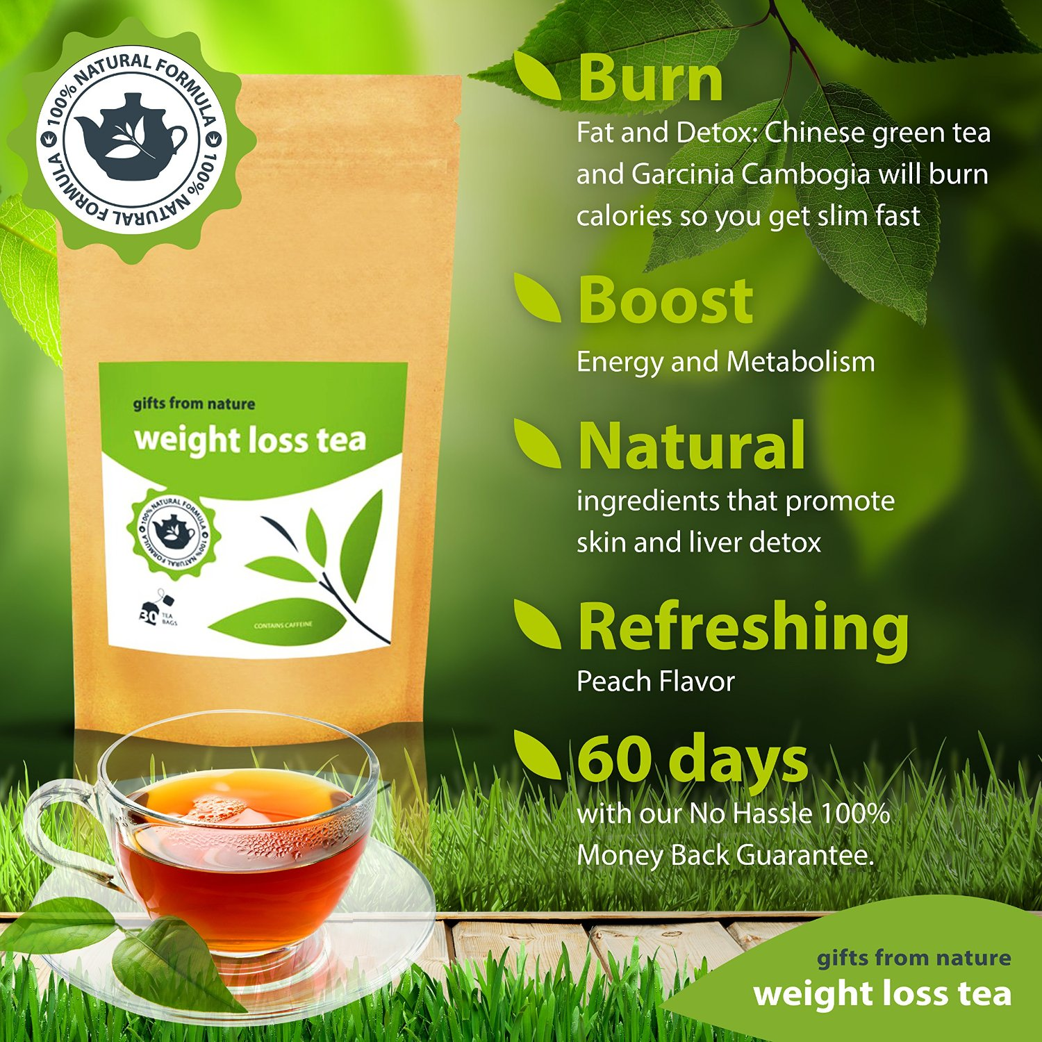 Slimming tea weight loss