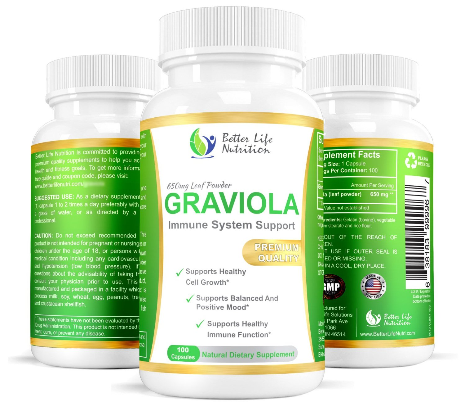 Graviola Leaf Extract