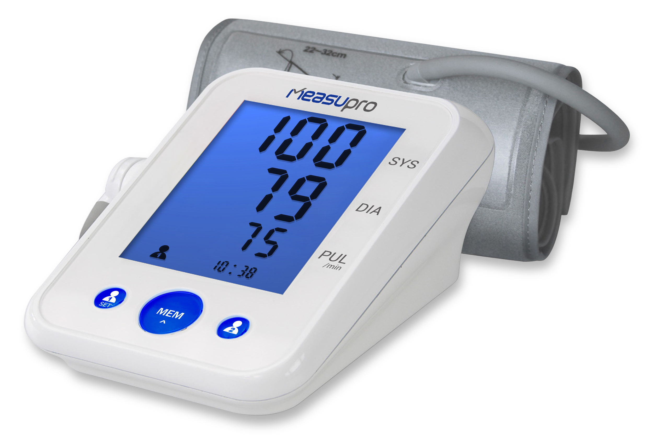 ultrasonic blood pressure how to read