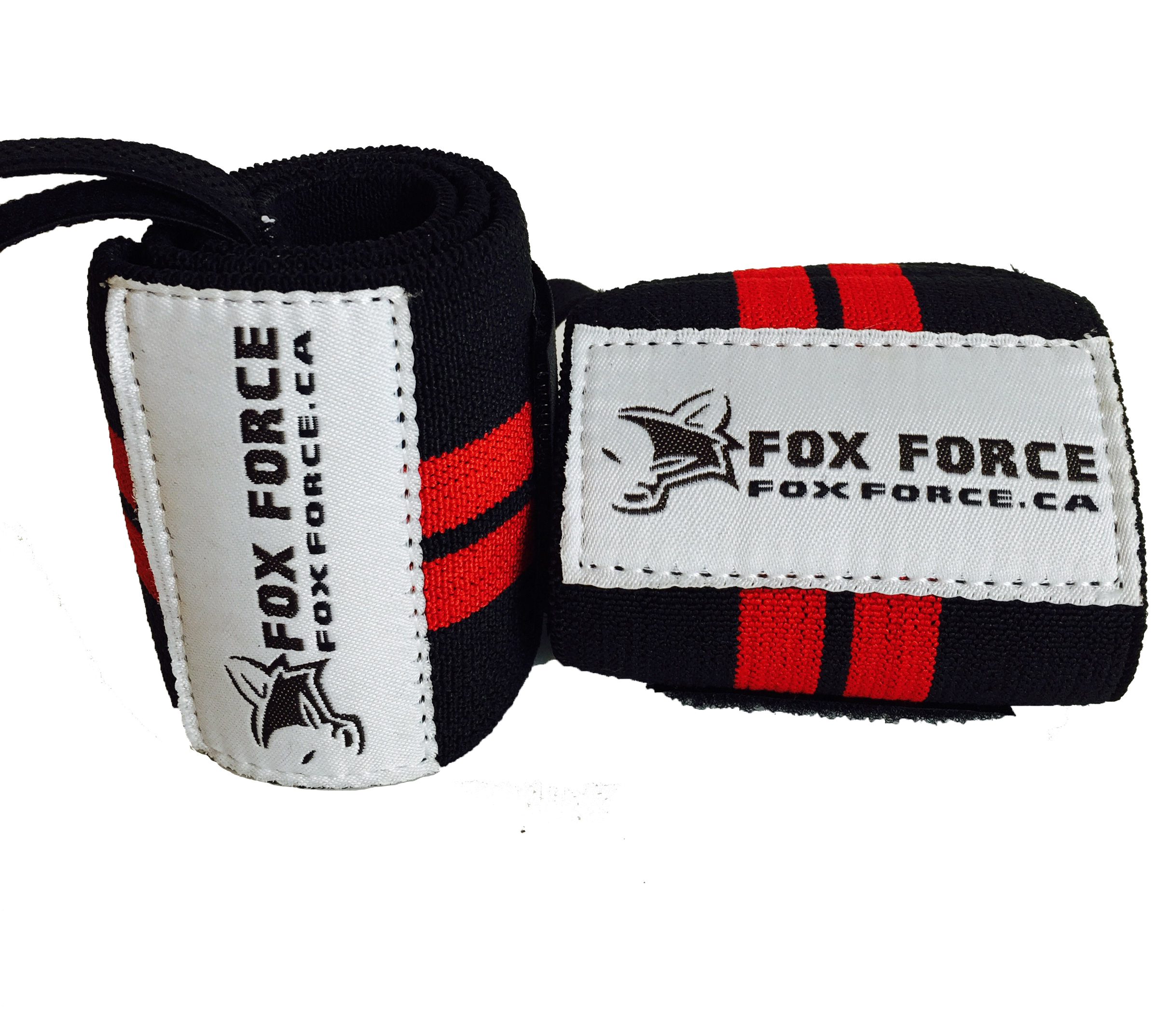 Weight Lifting Wrist Wraps by #foxforce