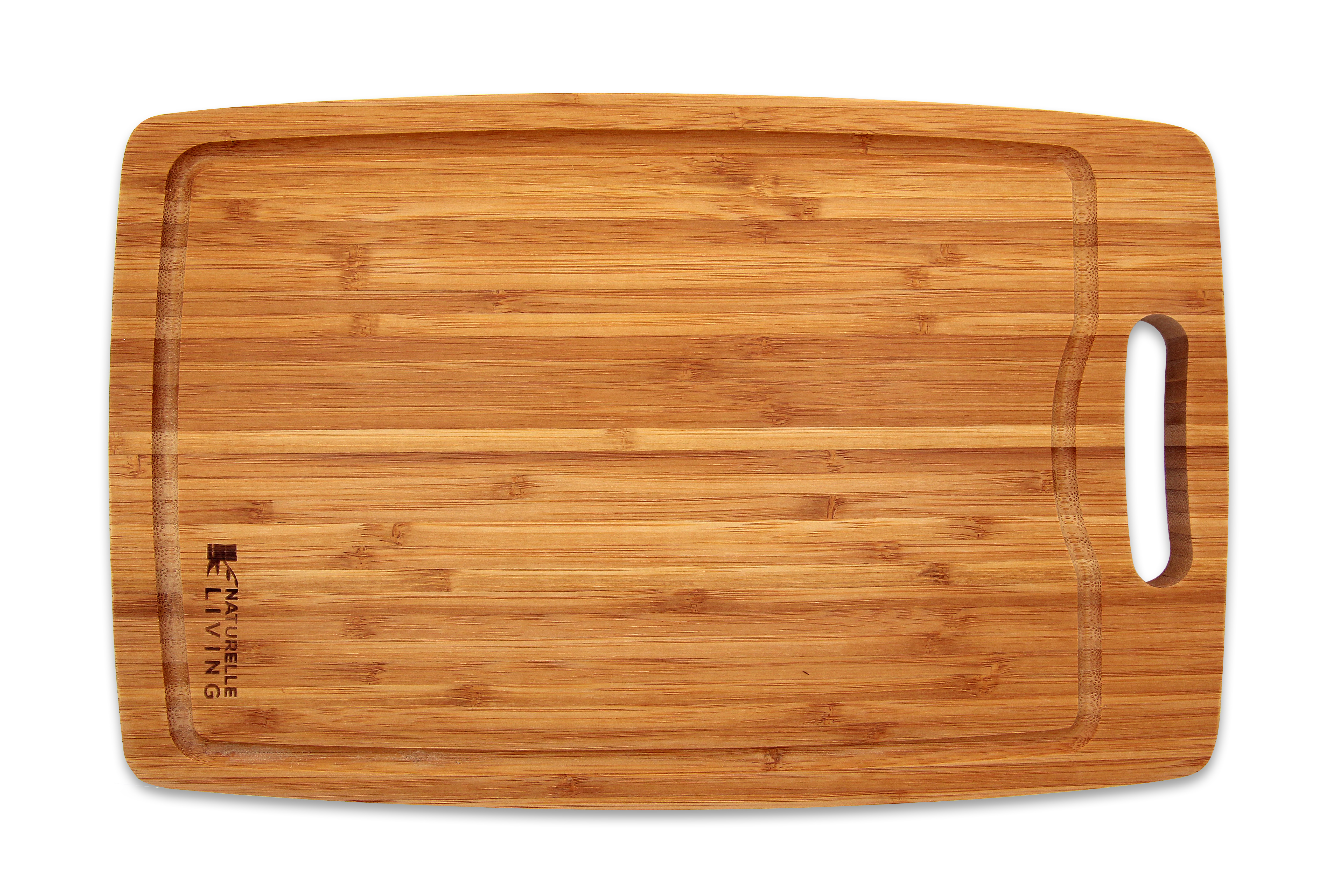 large thick bamboo cutting board with handle. Black Bedroom Furniture Sets. Home Design Ideas