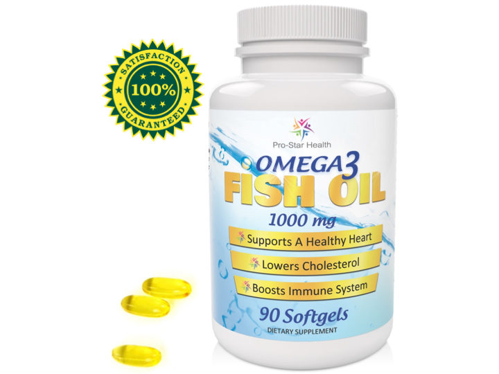 Pro star health omega 3 fish oil 1000mg review giveaway for Pro omega fish oil