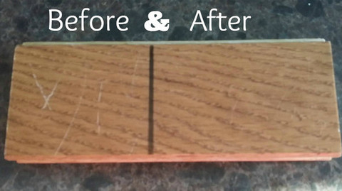... It Is Wonderful That There Is Finally A Real Solution To Repair White  Line Scratches On · Beautiful Hardwood Floor Scratch Repair How Fix ...