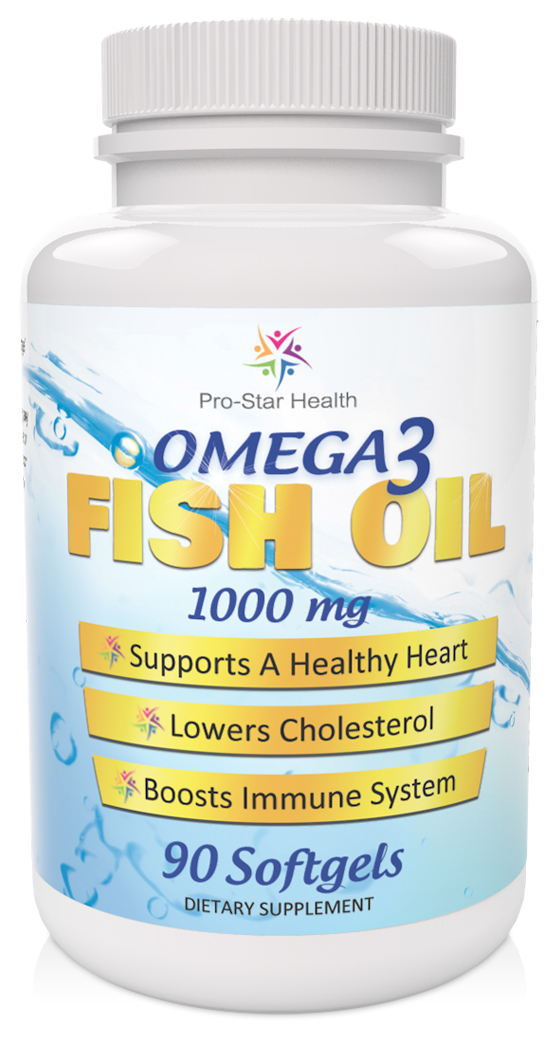 Pro star health omega 3 fish oil supplements review for Omega 3 fish oil reviews