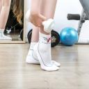Athletic Crew Socks - Mens, Womens - No Falling Socks, No Blisters, No Stinky Feet!